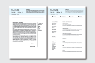 Download Free Resume Cover Letter Template Grafico Por Nirmala Graphics for Cricut Explore, Silhouette and other cutting machines.