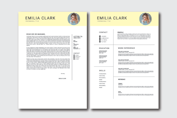 Resume / Cover Letter Templates