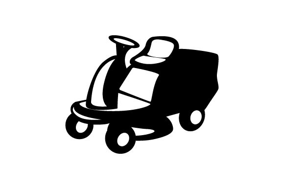 Download Free Ride On Lawn Mower Svg Cut File By Creative Fabrica Crafts for Cricut Explore, Silhouette and other cutting machines.