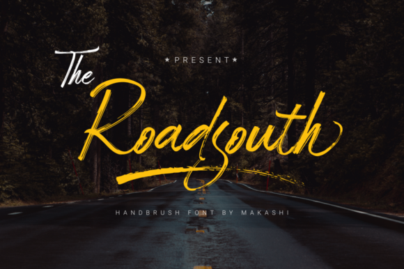 Print on Demand: Roadsouth Script & Handwritten Font By kammaqsum