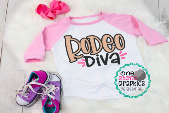 Download Free Rodeo Diva Graphic By Onestonegraphics Creative Fabrica for Cricut Explore, Silhouette and other cutting machines.