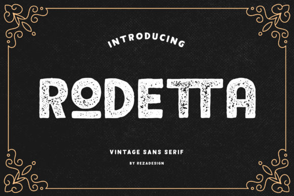 Print on Demand: Rodetta Sans Serif Font By Grezline Studio - Image 2