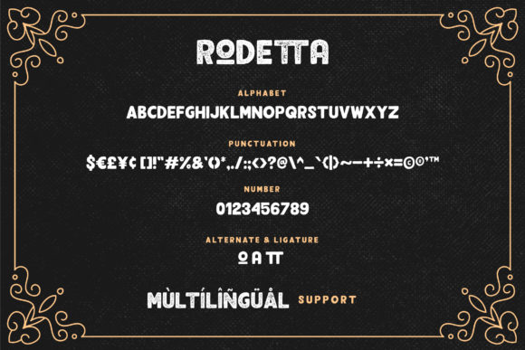 Print on Demand: Rodetta Sans Serif Font By Grezline Studio - Image 7
