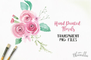 Rose Garden Watercolor 6 Bouquets Set Graphic By Bloomella