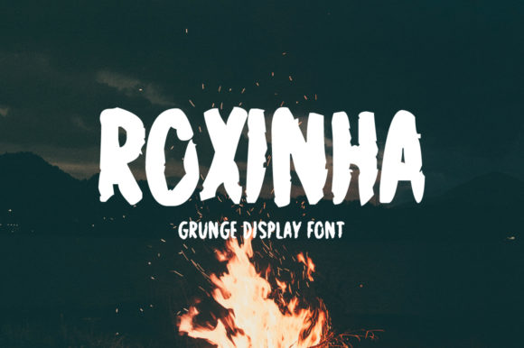 Print on Demand: Roxinha Display Font By Nuovo Tocco