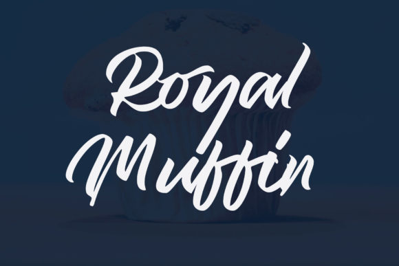 Print on Demand: Royal Muffin Script & Handwritten Font By ogit