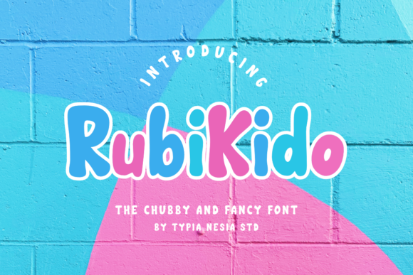 Print on Demand: Rubi Kido Sans Serif Font By Typia Nesia