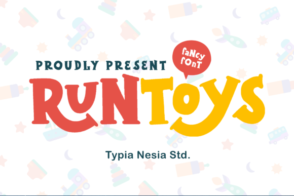 Print on Demand: Runtoys Display Font By Typia Nesia