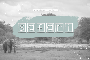 Safari Font By KA Designs