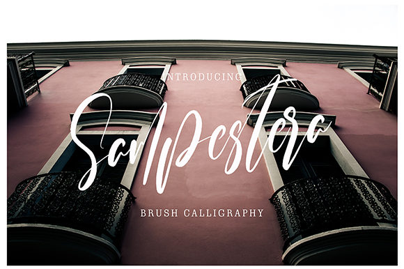 Print on Demand: Sampestera Script & Handwritten Font By missinklab