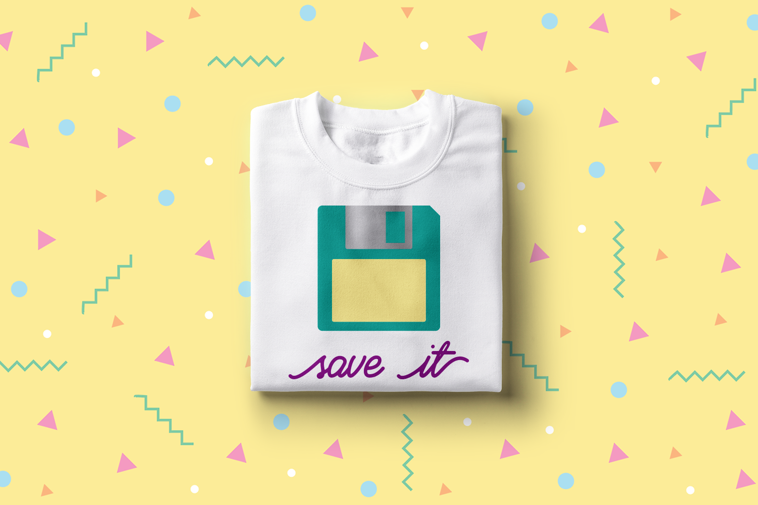 Download Free Save It Floppy Disk Graphic By Designedbygeeks Creative Fabrica for Cricut Explore, Silhouette and other cutting machines.
