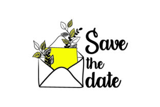 Save the Date Craft Design By Creative Fabrica Crafts