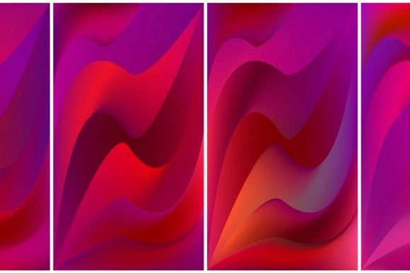 Screens Vibrant Gradient Background of S Graphic Backgrounds By MrBrahmana