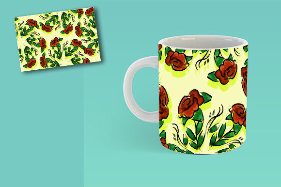 Seamles Flower Theme Graphic Patterns By ahmaddesign99 - Image 4