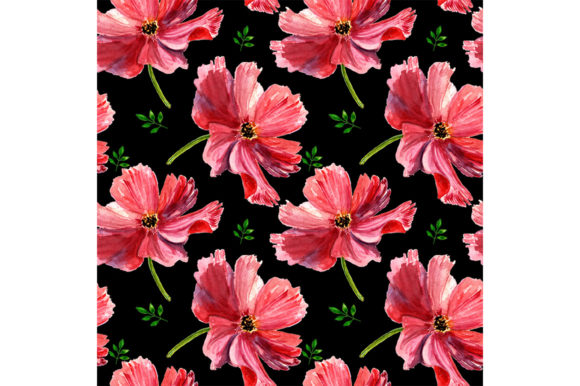 Download Free Seamless Spring Pattern Graphic By Kakva Creative Fabrica for Cricut Explore, Silhouette and other cutting machines.