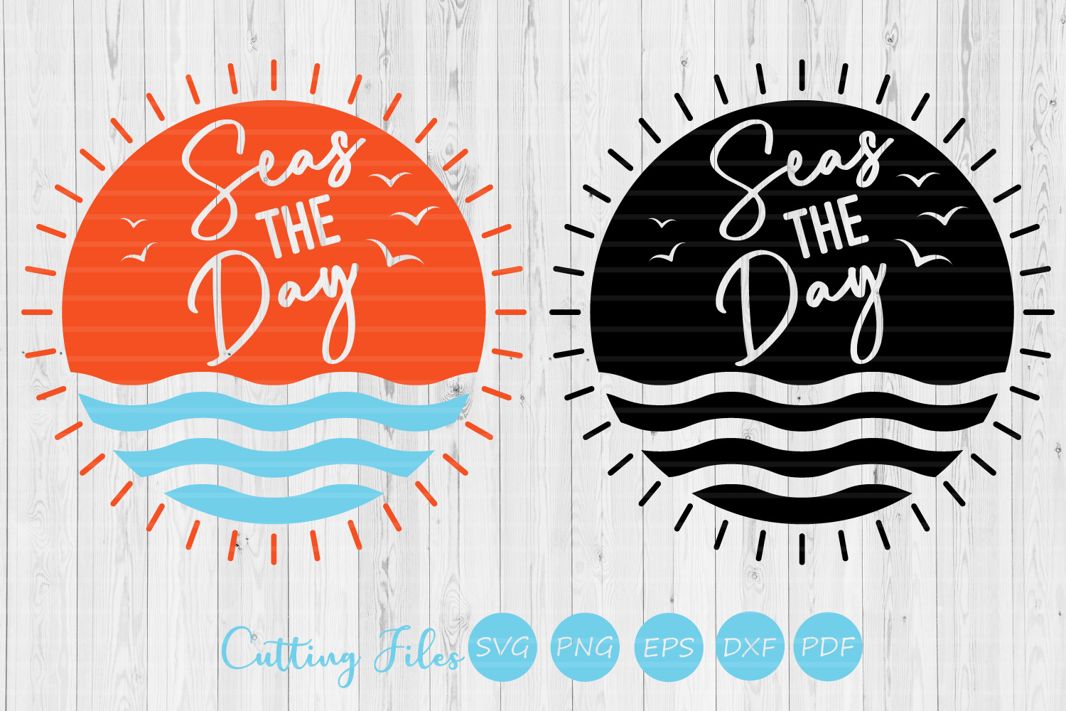Download Free Seas The Day Summer Svg Graphic By Hd Art Workshop Creative for Cricut Explore, Silhouette and other cutting machines.