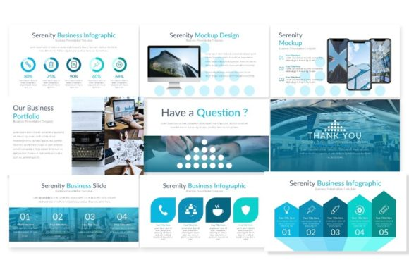 Download Free Serenity Keynote Template Graphic By Artdreamerstudio Creative Fabrica for Cricut Explore, Silhouette and other cutting machines.