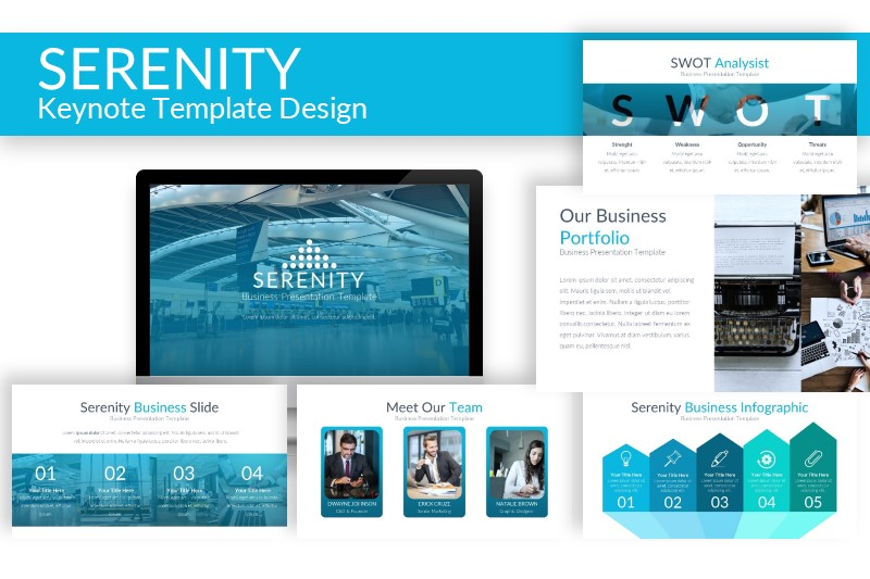 Download Free Serenity Keynote Template Graphic By Artdreamerstudio for Cricut Explore, Silhouette and other cutting machines.