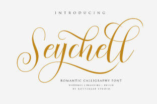 Seychell Font By rotterlabstudio
