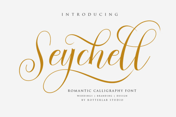 Print on Demand: Seychell Script & Handwritten Font By rotterlabstudio