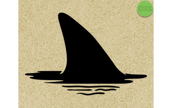 Shark Fin Vector Graphic By Crafteroks Creative Fabrica