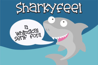 Sharkyfeet Font By Illustration Ink