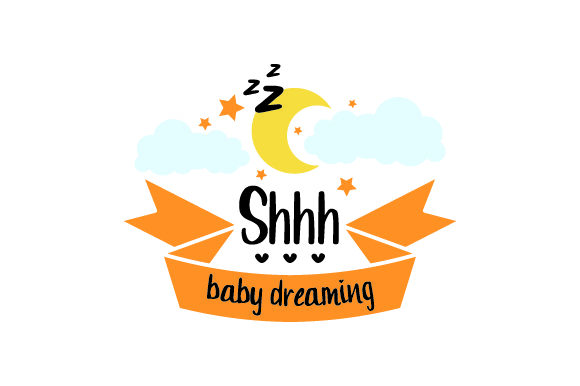 Shhh...baby Dreaming Craft Design By Creative Fabrica Crafts Image 1