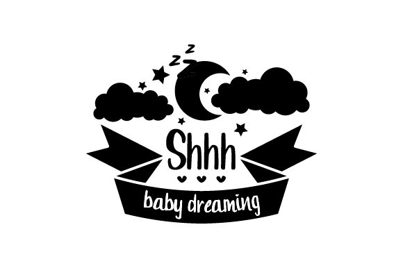 Shhh...baby Dreaming Craft Design By Creative Fabrica Crafts Image 2