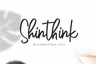 Shinthink Font By alphArt