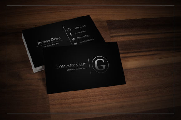 Shiver Business Card Templates Graphic Print Templates By gumacreative - Image 2
