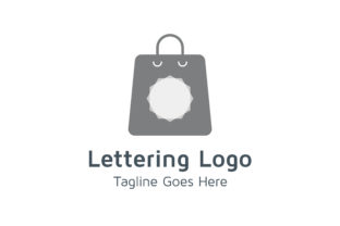 Shoping Logo Graphic By Acongraphic