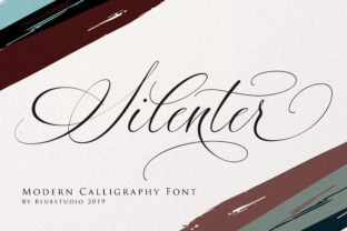 Silenter Font By Bluestudio