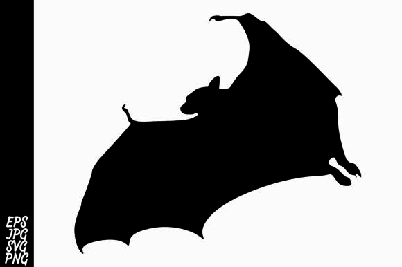Silhouette Bat Graphic By Arief Sapta Adjie Image 1