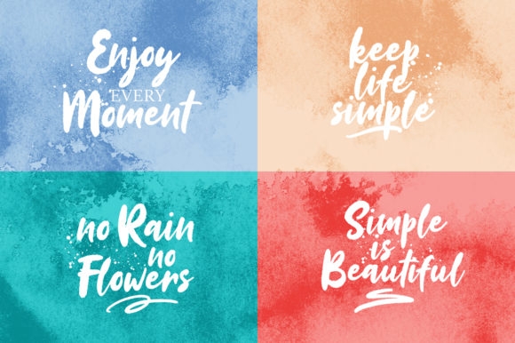 Print on Demand: Sinestta Script & Handwritten Font By Weape Design - Image 6
