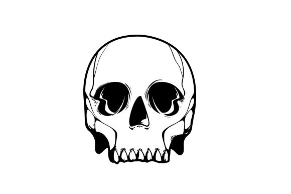 Download Free Skull Svg Cut File By Creative Fabrica Crafts Creative Fabrica for Cricut Explore, Silhouette and other cutting machines.