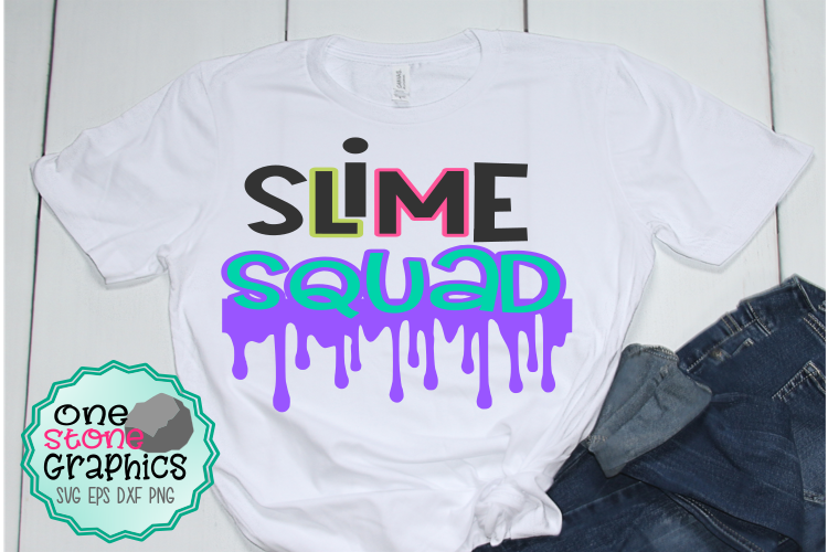 Download Free Slime Squad Svg Slime Svg Squad Svg Graphic By Onestonegraphics for Cricut Explore, Silhouette and other cutting machines.