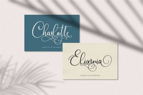 Print on Demand: Slovenia Script & Handwritten Font By Garisman Studio - Image 4