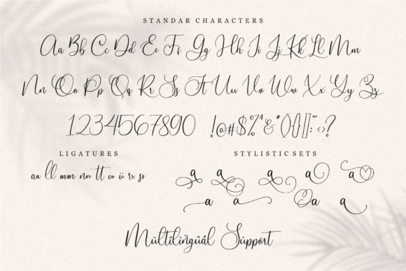 Print on Demand: Slovenia Script & Handwritten Font By Garisman Studio - Image 6
