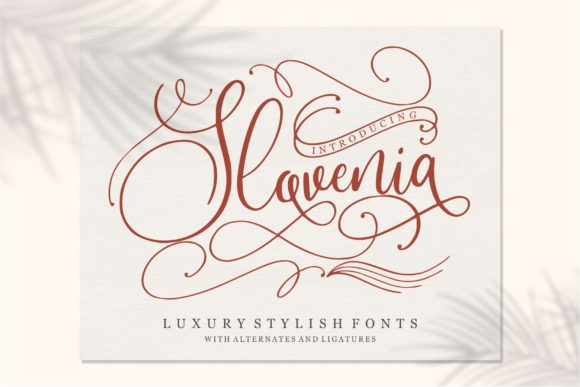 Print on Demand: Slovenia Script & Handwritten Font By Garisman Studio - Image 1