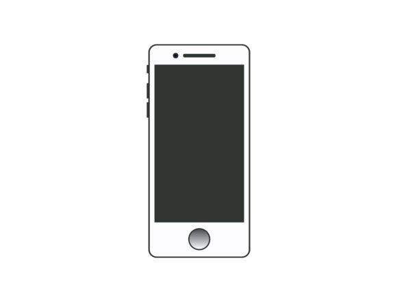 Print on Demand: Smartphone Vector Graphic Illustrations By TheDesignerBD