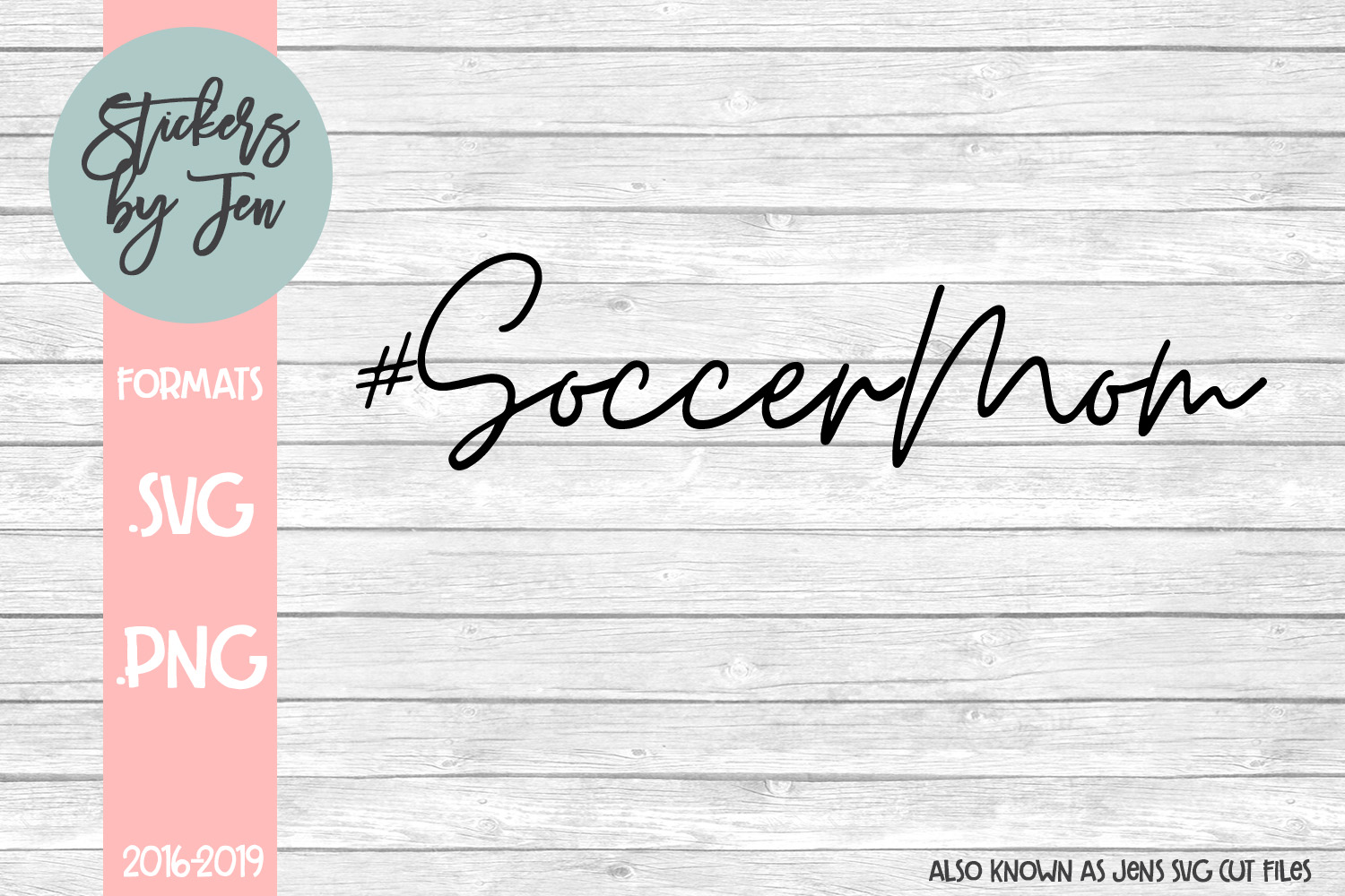 Download Free Soccer Mom Svg Graphic By Stickers By Jennifer Creative Fabrica for Cricut Explore, Silhouette and other cutting machines.