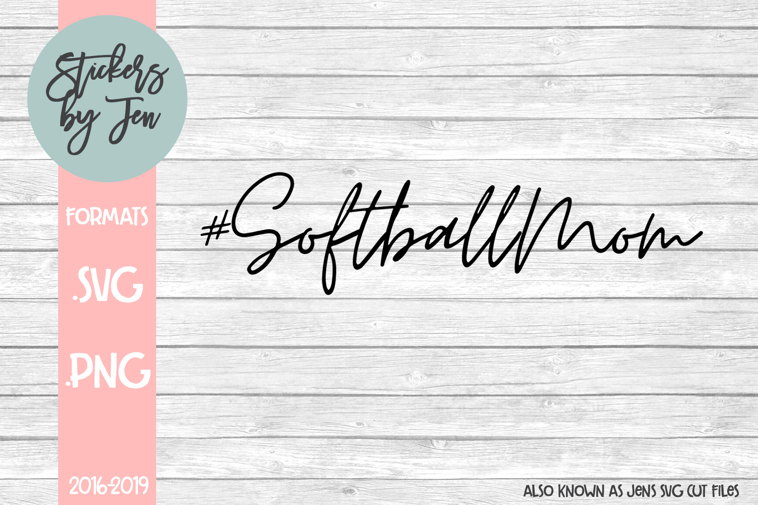 Download Free Softball Mom Svg Graphic By Stickers By Jennifer Creative Fabrica for Cricut Explore, Silhouette and other cutting machines.