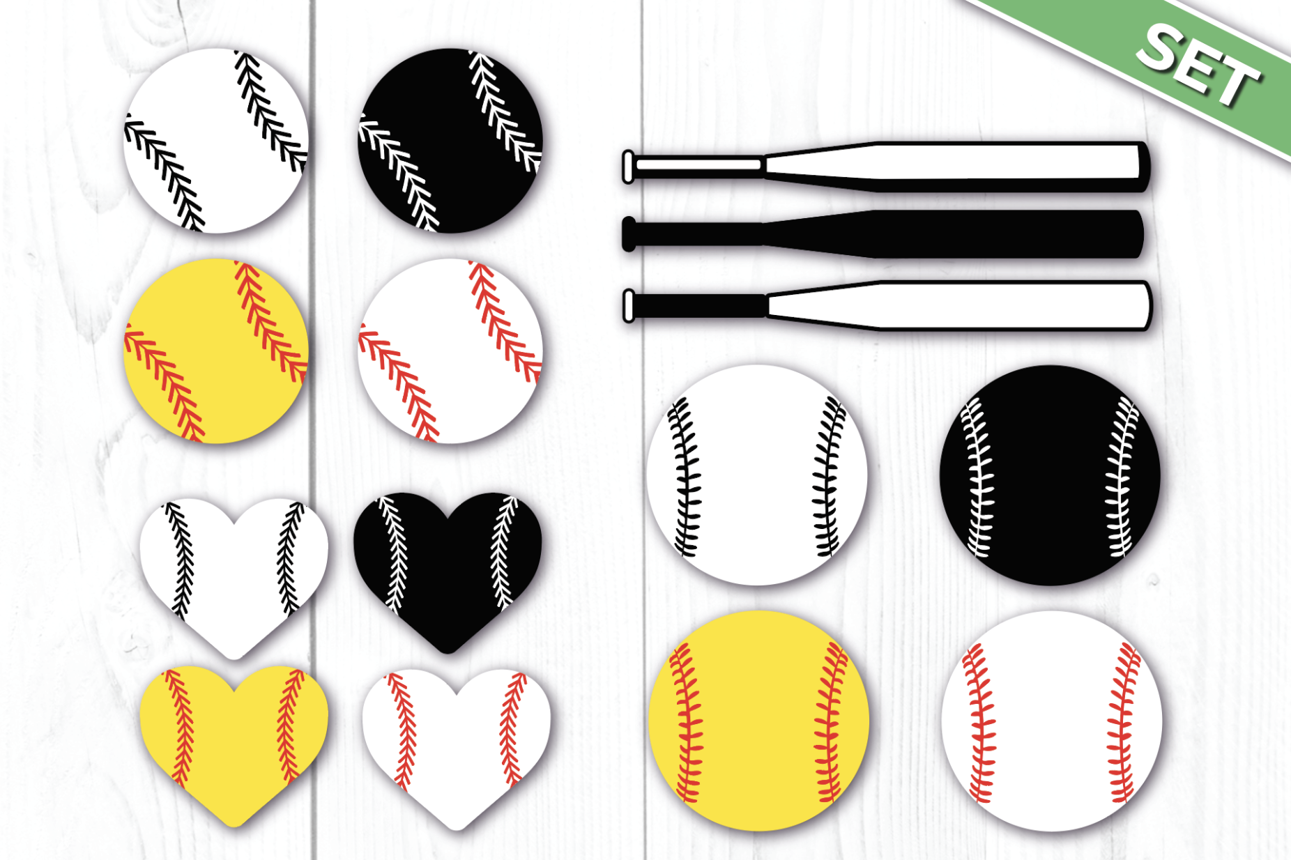 Download Free Softball For Cricut Graphic By Luxedesignartetsy Creative Fabrica for Cricut Explore, Silhouette and other cutting machines.