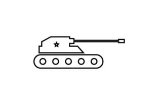 Download Free Soldier Military Tank Icon Vector Graphic By Hoeda80 SVG Cut Files
