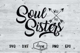 Download Free Soul Sisters Grafico Por Sheryl Holst Creative Fabrica SVG Cut Files
