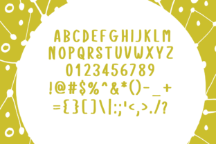 Print on Demand: Space Dream Display Font By Shattered Notion 4