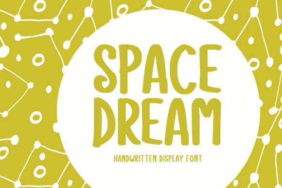 Print on Demand: Space Dream Display Font By Shattered Notion
