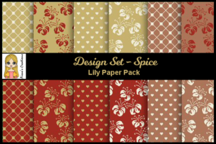 Spice - Lily Paper Pack Graphic By Aisne