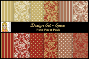 Spice - Rose Paper Pack Graphic By Aisne