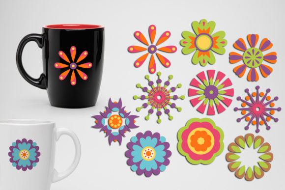 Print on Demand: Spring Flowers Graphic Illustrations By Revidevi